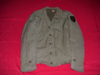 WWII Named 1st Division 26th Infantry M-41 Field Jacket with DIs