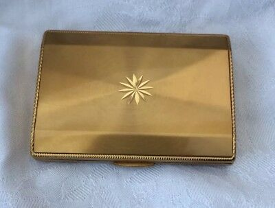 Art Deco Style Business Card Case Engine Turned