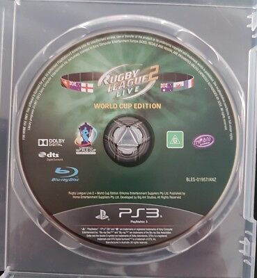 Rugby League Live 2 -- World Cup Edition (Sony PlayStation 3, 2014)