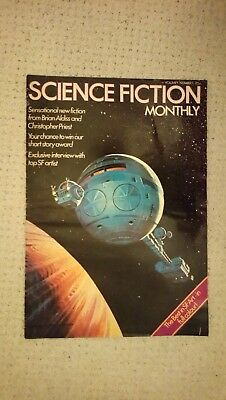 Science Fiction Monthly first edition number 1 volumn 1