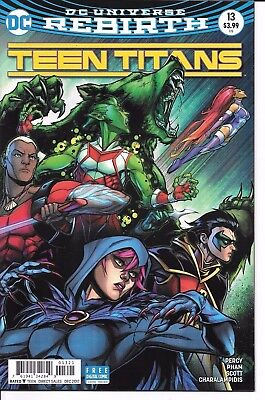 DC Comics TEEN TITANS #13 cover B first printing