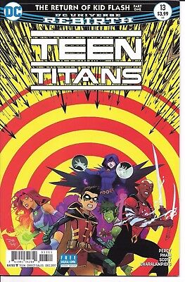 DC Comics TEEN TITANS #13 cover A first printing
