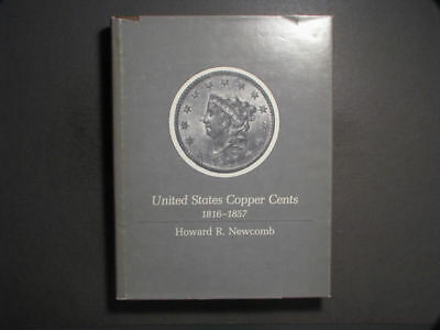 BOOK-United States Copper Cents 1816-1857 by Howard Newcomb - US SHIPPING ONLY