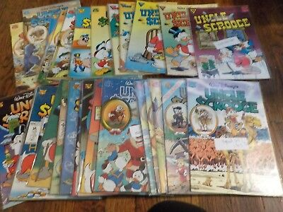 """Gladstone    Wd""""s  Uncle Scrooge   1989-1998-------31 Issues"""