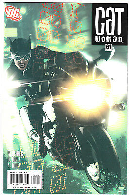 CATWOMAN #61 with cover art by ADAM HUGHES! DC Comics, 2007 NM/NM+