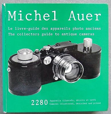 THE COLLECTOR'S GUIDE TO ANTIQUE CAMERAS. BOUND 3 VOL SET by MICHEL AUER