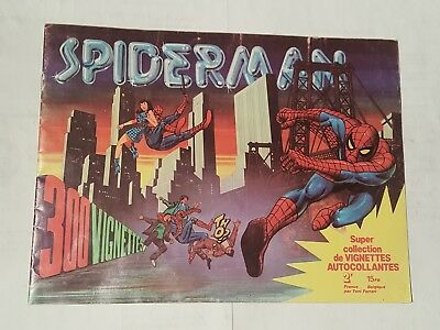spiderman sticker album 1970's prodifu -france