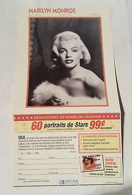 marilyn monroe promo ad 1980's/90's - canadian