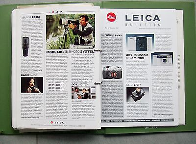 LEICA PHOTOGRAPHIC INFORMATION BULLETIN. ISSUES 1 - 50. MISSING No 23