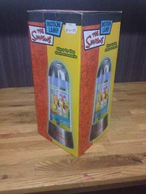 2002 Simpsons Motion Lamp Glow in the dark Brand new in Box Collectors