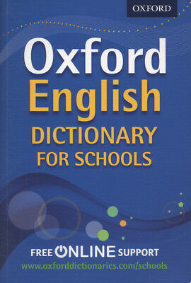 Oxford English dictionary for schools by Oxford Dictionaries (Mixed media