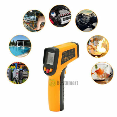 Temperature Gun Non-contact Infrared IR Laser Digital Thermometer -58 F to 1112F