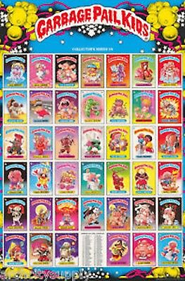 GARBAGE PAIL KIDS poster Series 1A from 1985 new and sealed (BH)