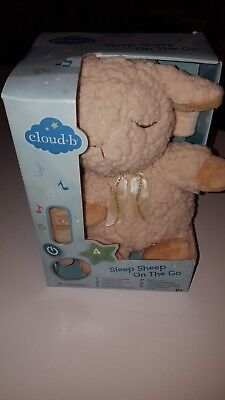 NEW Cloud B On The Go Travel Sound Machine Soother, Sleep Sheep