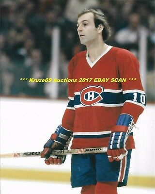GUY LAFLEUR The FLOWER 8x10 Photo MONTREAL CANADIENS HOF Great LE DEMON BLOND
