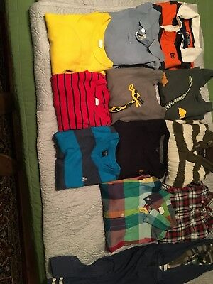 Lot Of 12 Size 3t winter and fall Boys Tops
