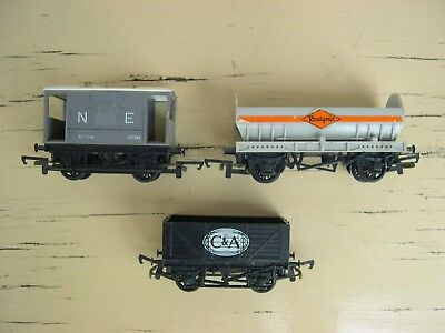 OO Scale Hornby freight wagons
