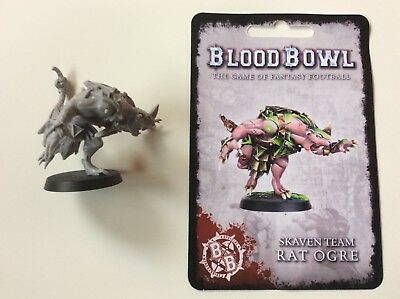 Forgeworld - RAT OGRE - Blood Bowl - Skaven - Skavenblight Scramblers - Oger