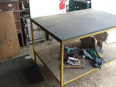 Small Steel Work Bench