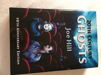 JOE HILL - 20th Century Ghosts - 200 num - SIGNED x 2 - OOP Unique PS Publishing