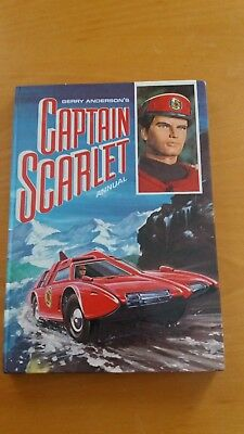 Gerry Anderson 1968 1st issue Captain Scarlet Annual