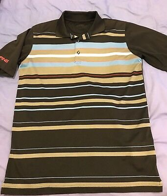 Men's Ping Golf Shirt, Small Size