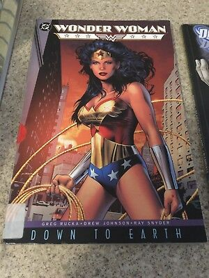 Wonder Woman -  Down To Earth (Combine Postage - Multiple Purchases)