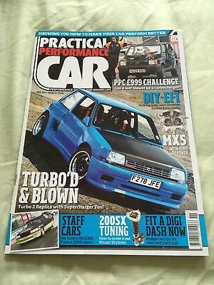 Practical Performance Car Nov 11 issue 91 - Renault 5 Turbo, V8 MX-5, 300ZX
