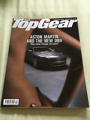 Top Gear Magazine Oct 03 issue 121 - DB9, DB7 Zagato, M3 CSL, 996 GT3