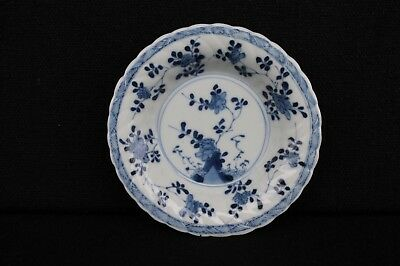 Great Kangxi saucer with floral decoration marked