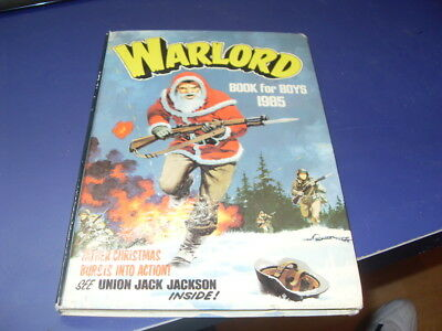 Warlord Book For Boys 1985