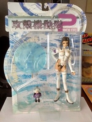 Ghost In The Shell Man Machine Interface Motoko White Bodysuit Figure+ Bot MOC B