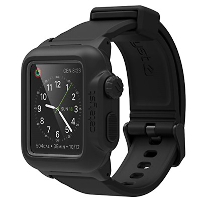 Catalyst Waterproof Shock Resistant Case for Apple Watch 42mm Series 1 - Stealt