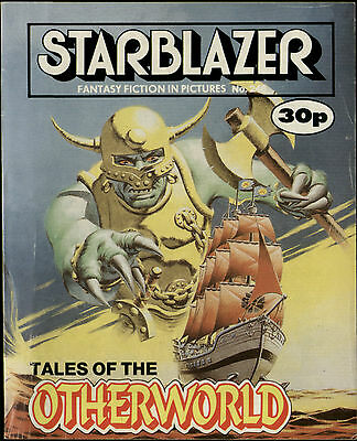 Tales Of The Otherworld,starblazer Fantasy Fiction In Pictures,comic,no.248,1989