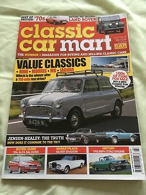 Classic Car Mart Mar 16 Vol 22 No 3 - Land Rover, Alfa Romeo, classic road trip