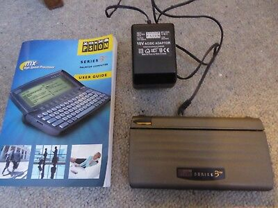 Psion 3MX Bundle, inc Power supply, Printer Cable, Manual, PSIwin, and 2GB SSD