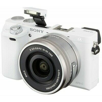 Sony Alpha a6000 Mirrorless Digital Camera with 16-50mm Lens (White) BRAND NEW!!