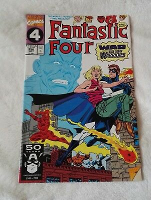 marvel comics fantastic four #356,sept 1991,in high grade vf+,bagged & boarded