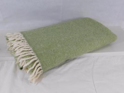 NATIONAL TRUST Pure New Wool Small Blanket / Throw 120 x 130 cms Made in Britian