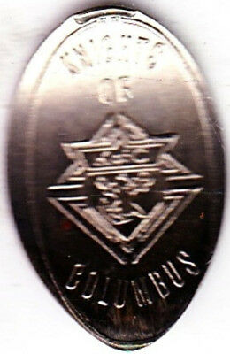 Knights of Columbus Elongated Nickel