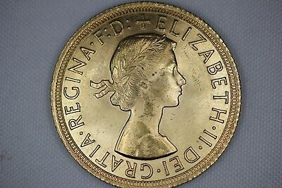 Queen Elizabeth Great Britain Sovereign - Various Date - .2354 GOLD