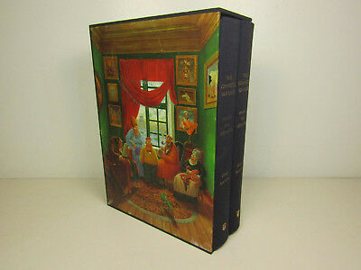 The Complete Far Side Hardcover Two Volume Book Set 2003 Gary Larson 1980-1994