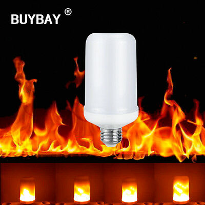 Effect Flame Bulbs 7W Creative Shimmering Emulation Vintage Lamps Decorative