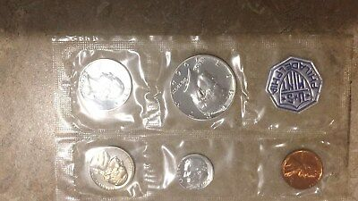 1964 US Mint Silver Proof Set - 5 Coin set - Free Shipping!