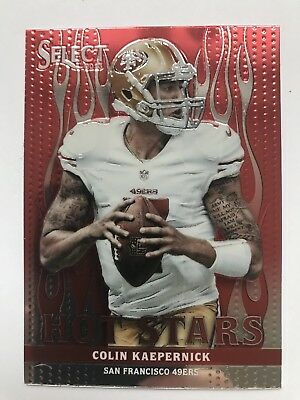 Colin Kaepernick (49ers) 2013 Select Hot Stars