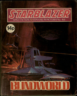Blindworld,starblazer Space Fiction Adventure In Pictures,no.46,1981
