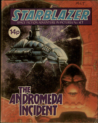 The Andromeda Incident,starblazer Space Fiction Adventure In Pictures,no.47,1981