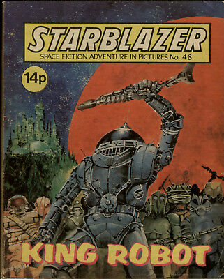 King Robot,starblazer Space Fiction Adventure In Pictures,no.48,1981