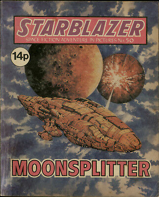 Moonsplitter,starblazer Space Fiction Adventure In Pictures,no.50,1981