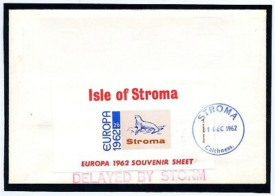 Scotland Scottish Islands Isle of STROMA Caithness DELAYED BY STORM 1962